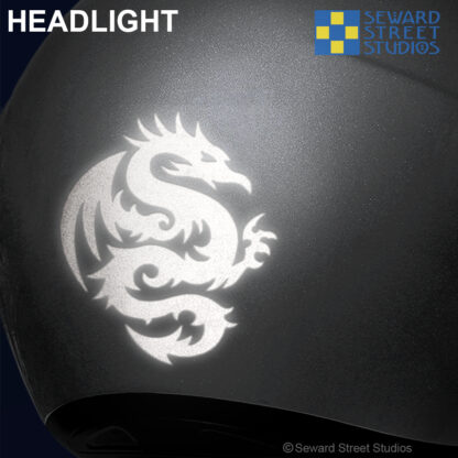 Hyper Reflective Tribal Dragon Decal