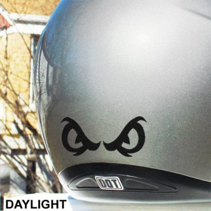 Hyper Reflective Angry Eyes Decal