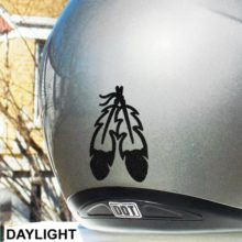 Hyper ReflectiveEagle Feathers Decal