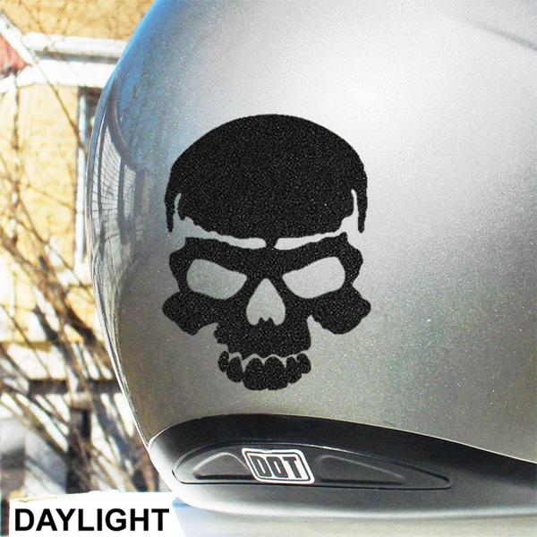 skull hyper reflective decal seward street studios