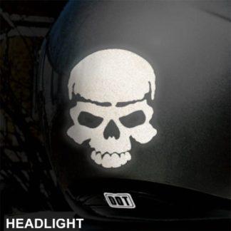 Seward Street Studios Skull Hyper Reflective Decal