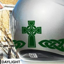 Seward Street Studios Hyper Reflective Celtic Cross Decal set