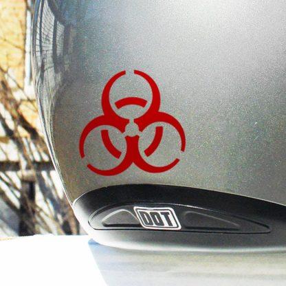 Seward Street Studios Hyper Reflective Biohazard Decal