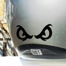 Seward Street Studios Hyper Reflective Angry Eyes Decal