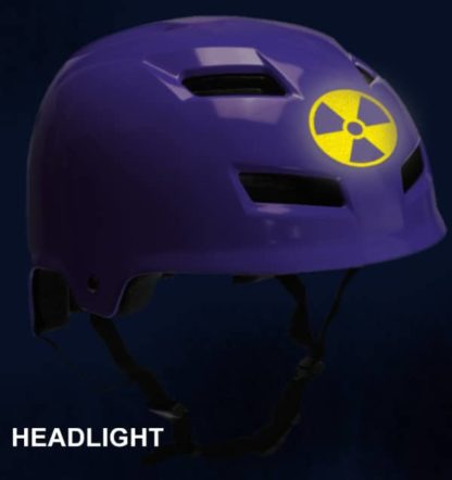 Hyper Reflective Radiation Symbol Decal