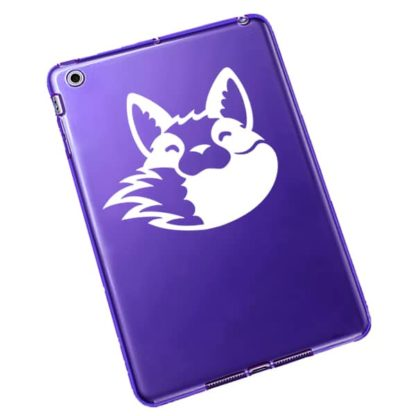 Seward Street Studios Fox Biting Tail Vinyl Decal
