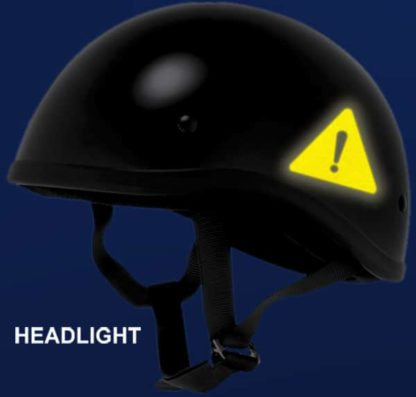 Hyper Reflective Hazard Symbol Decal