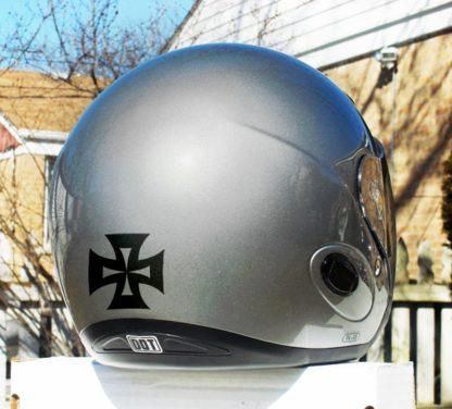 Hyper Reflective Iron Cross Decal