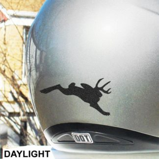 Hyper Reflective Jackalope Decal