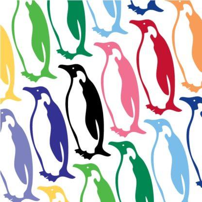 Penguin Vinyl Decal