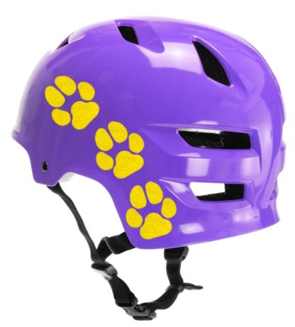 Hyper Reflective Paw Prints Decal Set