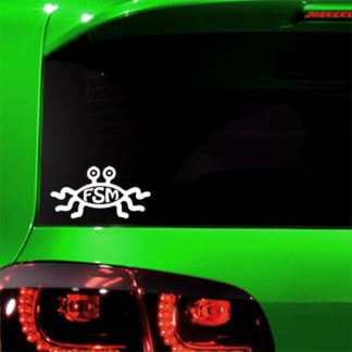 Flying Spaghetti Monster Vinyl Decal