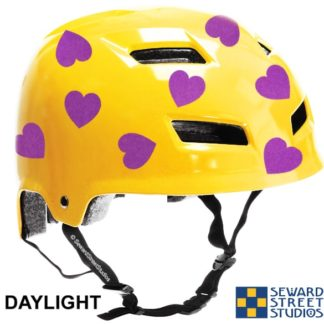 Hyper Reflective Hearts Decal Set