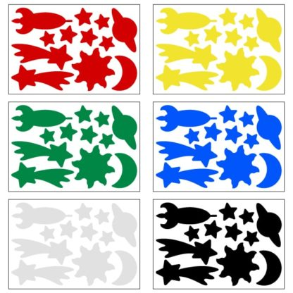 ReflectiveDinosaurs Decal Set