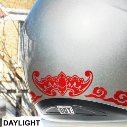 Hyper Reflective Fu Bat Decal Set