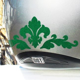 Hyper Reflective Fleur de Lis Decal Set