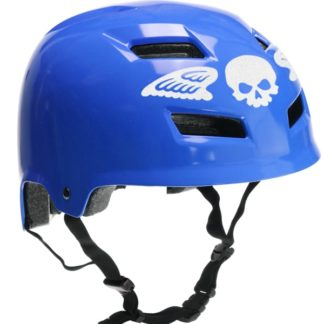 Hyper Reflective Skull With Wings Decal Set