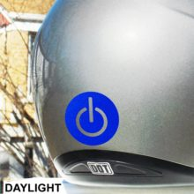 Hyper Reflective Power Symbol Decal