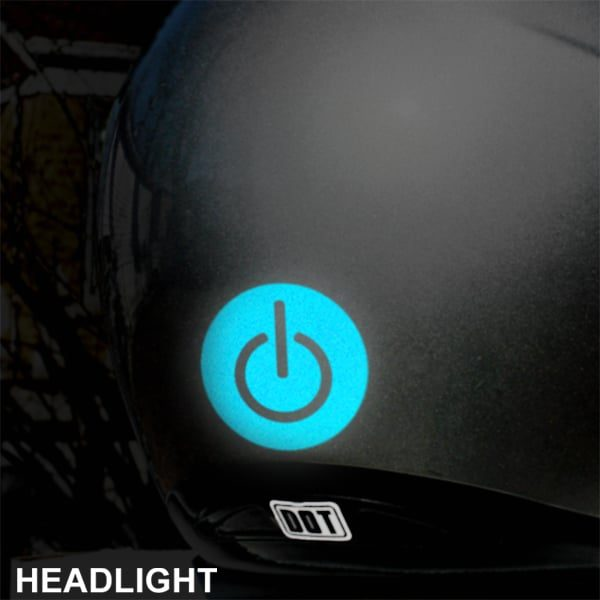 Hyper Reflective Power Symbol Decal