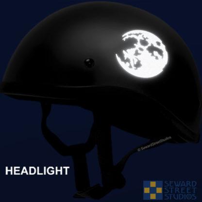 Hyper Reflective Full Moon Decal