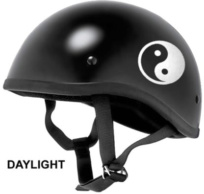 Hyper Reflective Yin Yang Decal