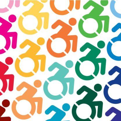 Handicap Symbol Vinyl Decal