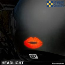 Hyper Reflective Lips Decal