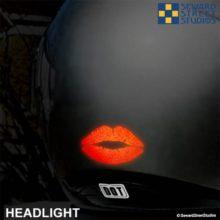 Hyper Reflective Lips Decal