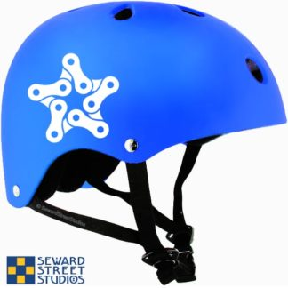 Bike Chain Star Vinyl Decal