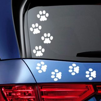Cat Tracks Vinyl Decals