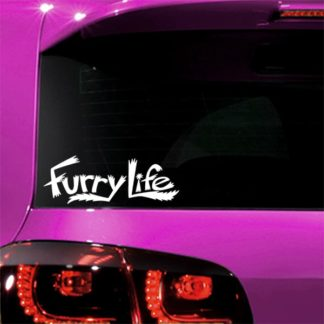 Furry Life Vinyl Decal