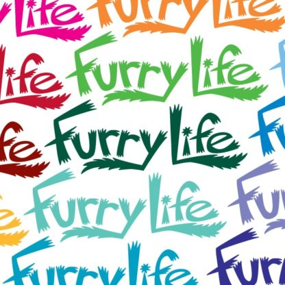 Furry Life Vinyl Decal