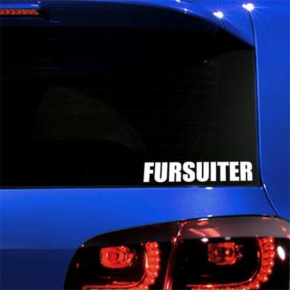 Fursuiter Vinyl Decal