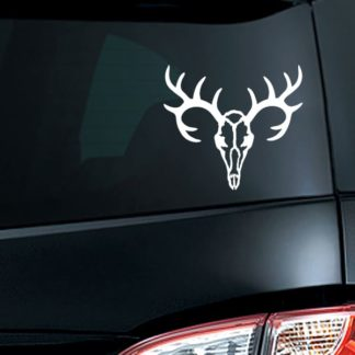 Deer Skull Vinyl Decal