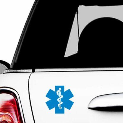 EMT Symbol Vinyl Decal