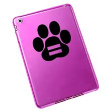Equality Paw Print Vinyl Decal