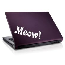 Meow Vinyl Decal