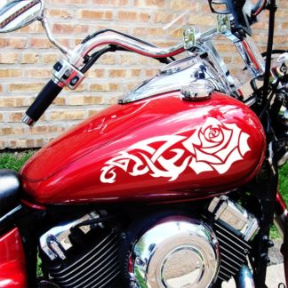 475 Tribal Rose Vinyl Decal Kit