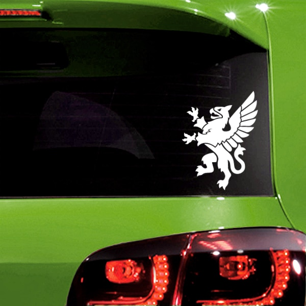 Rampant Griffin Vinyl Decal