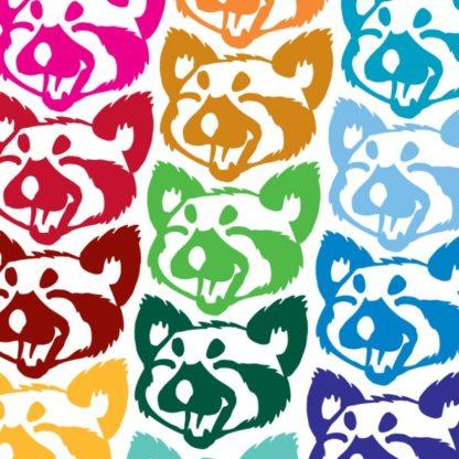 Red Panda Vinyl Decal