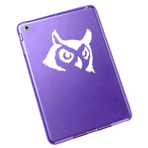 Owl Head Vinyl Decal