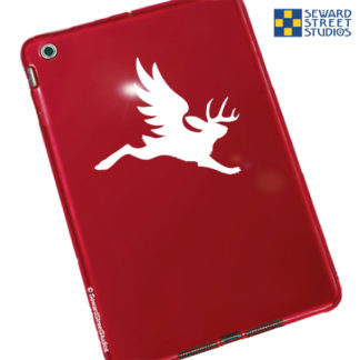 Seward Street Studios Winged Jackalope Vinyl Decal