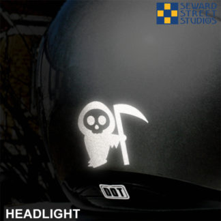 Hyper Reflective Little Death Decal
