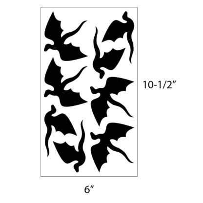 Flying Dragons Vinyl Decal Kit
