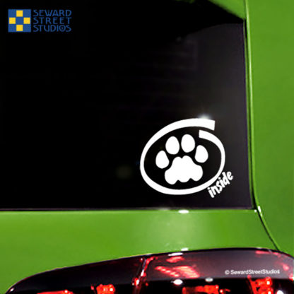 Kitty Inside Vinyl Decal