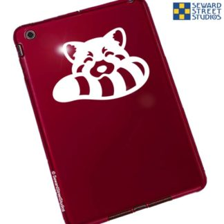 Seward Street Studios Red Panda Biting Tail Vinyl Decal