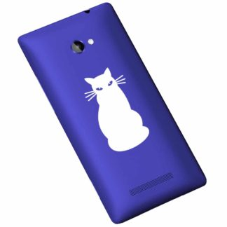 Sitting Cat Vinyl Decal