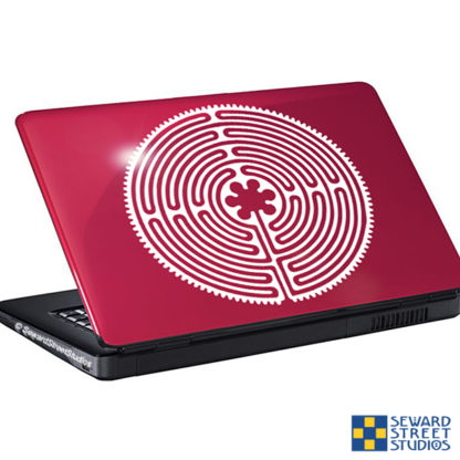 Chartres Labyrinth Vinyl Decal