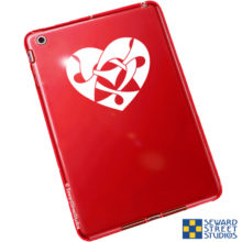 Seward Street Studios Knotwork Heart Vinyl Decal