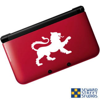 Rampant Lion Vinyl Decal